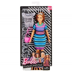 FJF69 Barbie Fashionistas Happy Hued