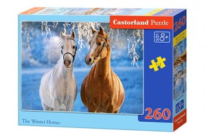 B-27378 Castorland - The Winter Horses 260 el.