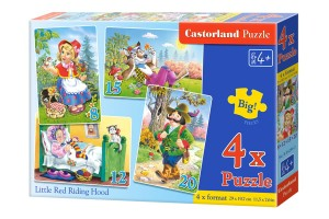 B-04294 Castorland - Little Red Riding Hood 8+12+15+20