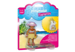 6886 PLAYMOBIL - Fashion Girl - Plaża