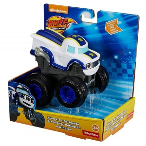 DYN40 Fisher-Price Monster Blaze - Naciśnij i jedź Darington