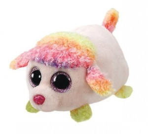 41245 Teeny Tys FLORAL - multicolor poodle