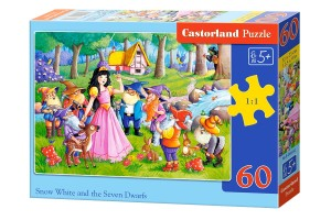 B-066032 Castorland - Snow White and the Seven Dwarfs 60 el.