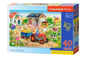 B-040193 Castorland - Life on the Farm MAXI 40 el.