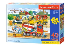 B-040018 Castorland - Construction Site MAXI 40 el.