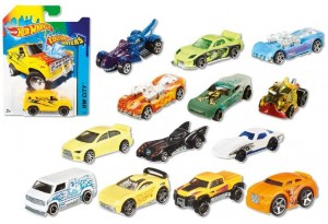 BHR15 Hot Wheels - Colour Shifters, mix wzorów