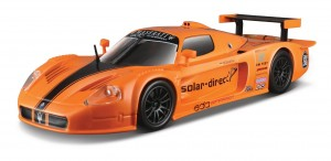 18-21078 BBURAGO - Maserati MC12 orange 1:24