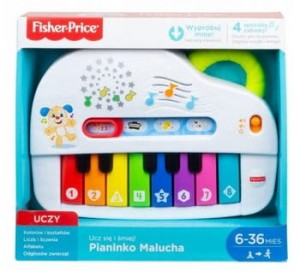 GFK02 Fisher-Price - Pianinko Malucha