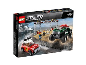 75894 LEGO Speed Champions - 1967 Mini Cooper S Rally oraz 2018 MINI John Cooper Works Buggy
