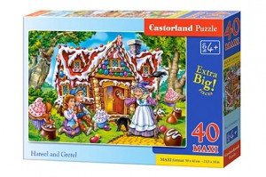 B-040285 Castorland - Hansel and Gretel MAXI 40 el.