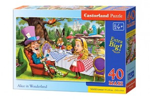B-040292 Castorland - Alice in Wonderland MAXI 40 el.