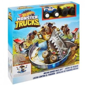 FYK14 Hot Wheels Monster Trucks - Tor Samochodowy Arena Rekina