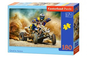 B-018420 Castorland - Quad in Action 180 el.
