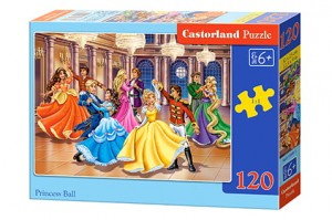 B-13449 Castorland - Princess Ball 120 el.