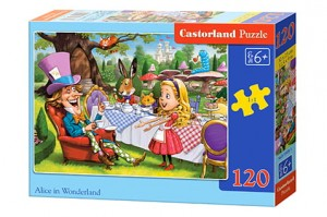 B-13456 Castorland - Alice in Wonderland 120 el.