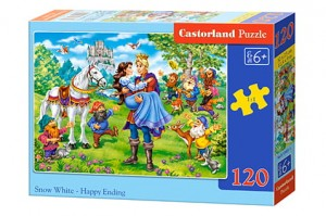 B-13463 Castorland - Snow White - Happy Ending 120 el.