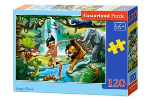 B-13487 Castorland - Jungle Book 120 el.