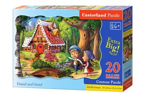 C-02368 Castorland - Hansel and Gretel MAXI 20 el.