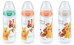 97543 NUK - Butelka NUK First Choice Plus DISNEY Kubuś Puchatek z tworzywa (PP) 300 ml, 0-6m
