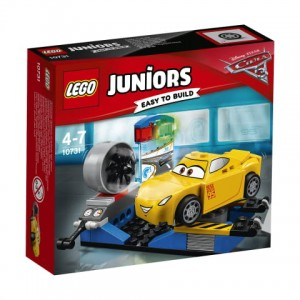 10731 LEGO Juniors Cars - Symulator wyścigu Cruz Ramirez