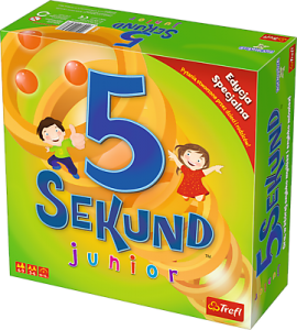 01643 Trefl - 5 Sekund Junior 2.0