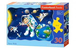 B-03594 Castorland - Space Walk 30 el.