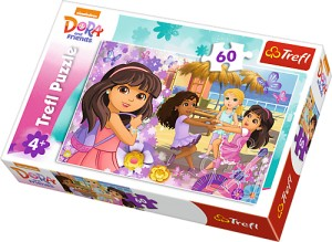17296 Trefl Dora and Friends - Taniec i muzyka 60 el.