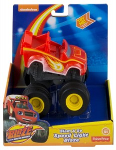DYT98 Fisher-Price Monster Blaze - Naciśnij i jedź