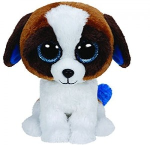 37012 Beanie Boos DUKE - white/brown dog
