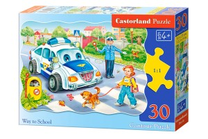 B-03389 Castorland - Way to School 30 el.