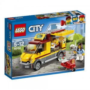 60150 LEGO® City - Foodtruck z pizzą