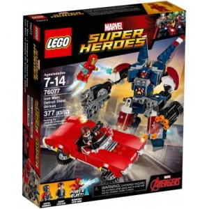 76077 LEGO Super Heroes - Iron Man: Detroit Steel atakuje