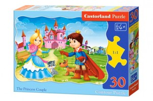 B-03518 Castorland - The Princess Couple 30 el.