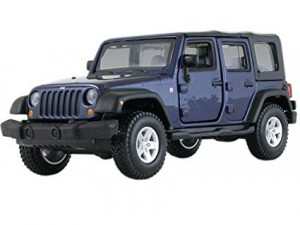 18-43000 BBURAGO - JEEP WRANGLER Unlimited Rubicon 1:32