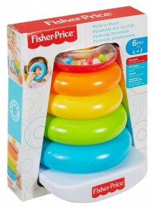 FHC92 Fisher-Price -  Piramida z kółek
