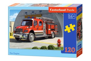 B-12831 Castorland - Fire Engine 120 el.