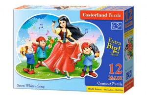B-120192 Castorland - Snow White's Song MAXI 12 el.