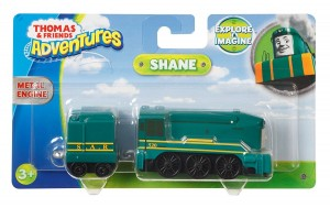 FJP52 Fisher-Price Adventures - Duża lokomotywa Shane