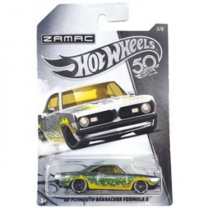 FRN26 Hot Wheels - 68 Plymouth Barracuda Formula S