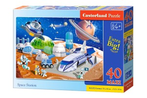 B-040230 Castorland - Space station MAXI 40 el.