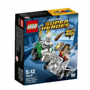 76070 LEGO Super Heroes - Mighty Micros: Wonder Woman™ kontra Doomsday™