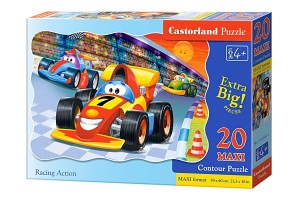C-02306 Castorland - Racing Action MAXI 20 el.