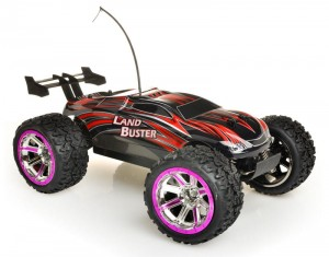 757-4WD12 NQD - Land Buster red - 27MHz; 34cm